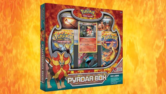 Pokémon TCG: Pyroar Box