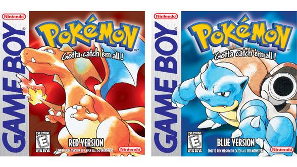 Pokémon Red Version and Pokémon Blue Version