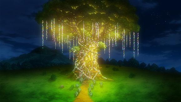 Under the Pledging Tree!