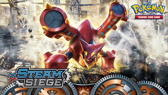 Pokémon TCG: <em>XY—Steam Siege</em>