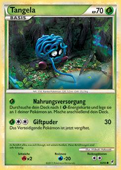 Pokemon Tangela And Gardenia Images