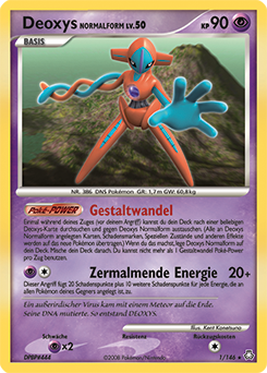 Deoxys Normalform