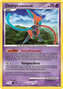 Deoxys Speedform