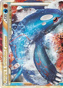 Kyogre & Groudon-LEGENDE