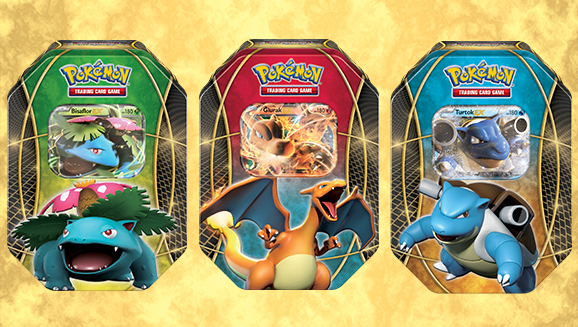 "Die Tin-Box ""<em>EX</em>-Power-Trio"" des Pokémon Sammelkartenspiels"