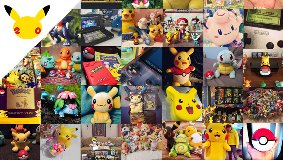 Share Your Love of Pokémon with #Pokemon20!