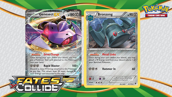 Blast Away with<br />Genesect-<em>EX</em>