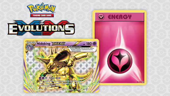Get into the Battling Spirit with Pokémon TCG: <br /><em>XY—Evolutions</em>