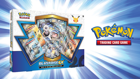 Pokémon TCG: Red & Blue Collection—Blastoise-<em>EX</em>