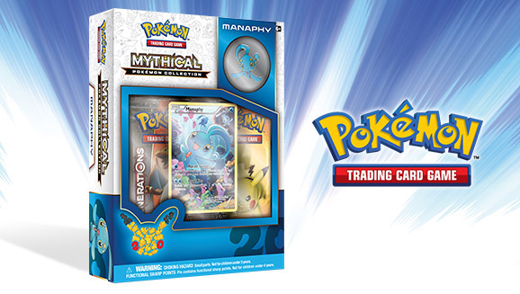 Set Sail with Manaphy in the Pokémon TCG!