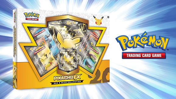 Pokémon TCG: Red & Blue Collection–Pikachu-<em>EX</em>