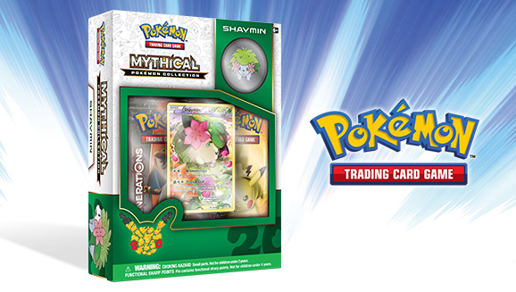Pokémon TCG: Mythical Pokémon Collection—Shaymin