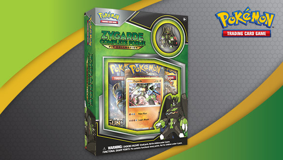 Pokémon TCG: Zygarde Complete Forme Pin Collection