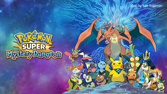 Visit the Pokémon Super Mystery Dungeon Official Site!