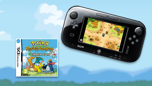 Play <em>Pokémon Mystery Dungeon: Explorers of Sky</em> on Virtual Console