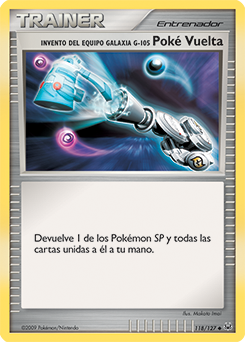 Invento del Equipo Galaxia G-105 Poké Vuelta
