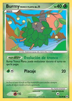 Burmy Tronco Planta