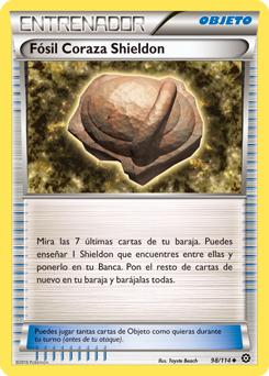 Fósil Coraza Shieldon