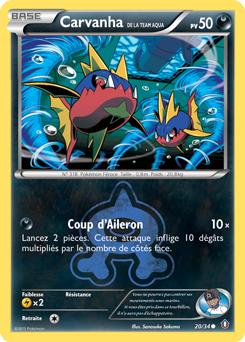 Carvanha de la Team Aqua
