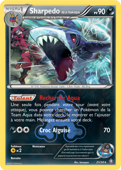 Sharpedo de la Team Aqua