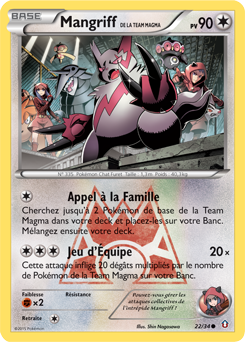 Mangriff de la Team Magma