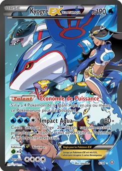 Kyogre-EX de la Team Aqua