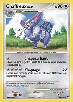 Chaffreux diamant perle encyclop die des cartes du jcc - Evolution pokemon diamant ...