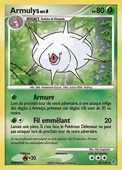 Armulys diamant perle encyclop die des cartes du jcc - Evolution pokemon diamant ...