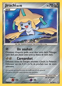 Jirachi veil des l gendes encyclop die des cartes du - Carte pokemon jirachi ...