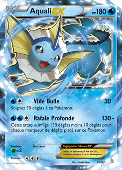 Aquali ex g n rations encyclop die des cartes du jcc - Carte pokemon aquali ...