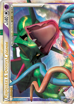 Rayquaza & Deoxys LÉGENDE
