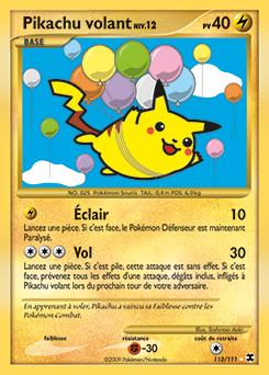 Pikachu volant