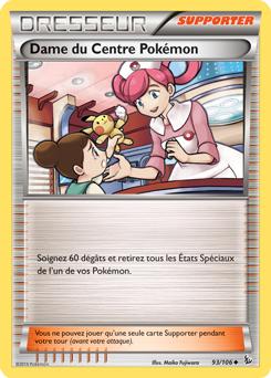 Dame du Centre Pokémon