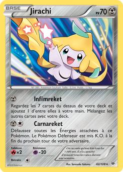 Jirachi pok dex - Carte pokemon jirachi ...