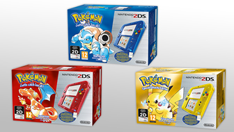 Les packs Nintendo 2DS Pokémon arrivent en Europe !