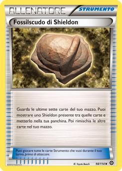 Fossilscudo di Shieldon