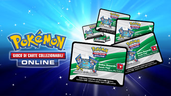 Riscatta le tue carte codice del GCC Pokémon Online su www.pokemon.it
