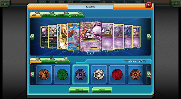 Codici mazzi pokemon trading card game online