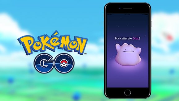 Trova Ditto in <em>Pokémon GO</em>