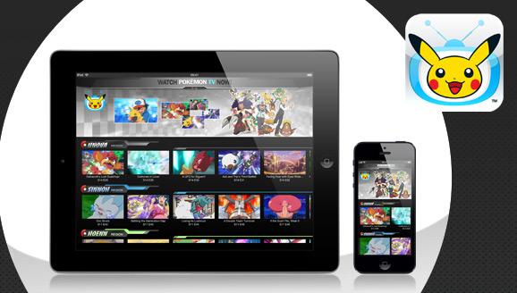 Aplicativo da TV Pokémon  www.pokemon.net.br