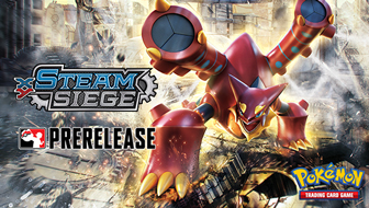 Compete in <em>XY—Steam Siege</em> Prerelease Tournaments