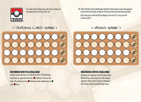 League scorecard