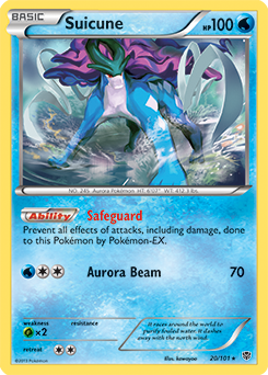 Suicune | Pokédex Wailmer Pokemon Card