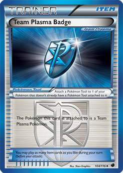 Team Plasma Badge
