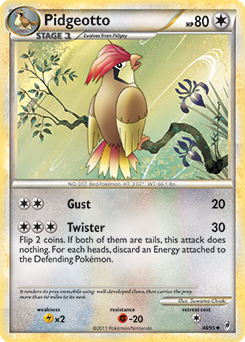 Pidgeotto | XY—Flashfire | TCG Card Database | Pokemon.com