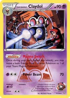 Team Magma's Claydol