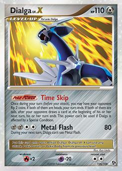Pokemon dialga card ex