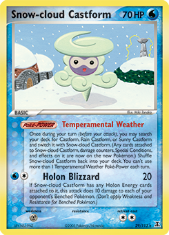 Snow-cloud Castform