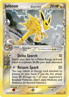 Jolteon δ