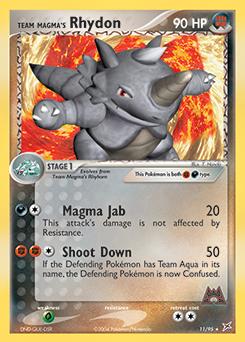Team Magma's Rhydon
